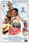 The Babe 1992 Movie poster John Goodman Arthur Hiller