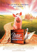 Babe the Gallant Pig 1995 poster Christine Cavanaugh Chris Noonan