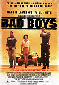 Bad Boys 1995 Movie poster Will Smith