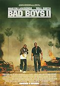 Bad Boys II 2003 poster Martin Lawrence Michael Bay