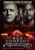 Bad Company 2002 poster Anthony Hopkins Joel Schumacher