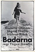 Badarna 1967 Movie poster Gunilla Olsson Yngve Gamlin