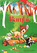 Bambi 1942 Movie poster