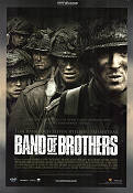Band of Brothers DVD 2002 Movie poster Kirk Acevedo