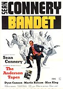 The Anderson Tapes 1971 Movie poster Sean Connery