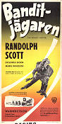 The Bounty Hunter 1954 poster Randolph Scott André De Toth