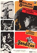 Banditos 1966 Movie poster Marlon Brando
