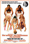 Semi-tough 1977 poster Burt Reynolds Michael Ritchie