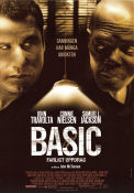 Basic 2003 Movie poster John Travolta
