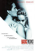 Basic Instinct 1992 Movie poster Michael Douglas Paul Verhoeven