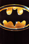Batman 1989 Movie poster Jack Nicholson Tim Burton