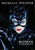 Batman Returns 1992 poster Michelle Pfeiffer