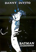 Batman Returns 1992 Movie poster Danny de Vito