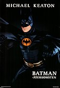 Batman Returns 1992 poster Michael Keaton