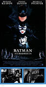 Batman Returns 1992 poster Michael Keaton Tim Burton