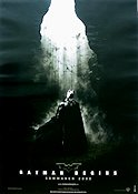 Batman Begins 2005 Movie poster Christian Bale