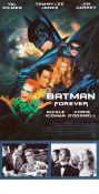 Batman Forever 1995 Movie poster Val Kilmer Tim Burton