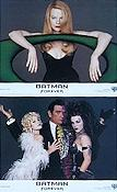 Batman Forever 1995 lobby card set Val Kilmer Tim Burton