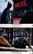 Batman Returns 1992 lobby card set Michael Keaton Tim Burton