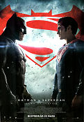 Batman v Superman Dawn of Justice 2016 poster Ben Affleck Zack Snyder