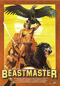 The Beastmaster 1982 Movie poster Marc Singer