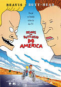 Beavis and Butt-Head do America 1996 Movie poster Beavis and Butt-Head