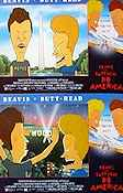 Beavis and Butt-Head do America 1996 lobby card set Beavis and Butt-Head