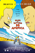 Beavis and Butt-Head do America 1996 poster