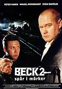 Beck 2 Spår i mörkret 1998 Movie poster Peter Haber