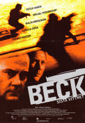 Beck sista vittnet 2002 Movie poster Peter Haber