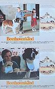 Beethoven's Second 1993 lobby card set Charles Grodin
