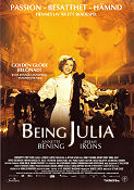 Being Julia 2004 Movie poster Annette Bening