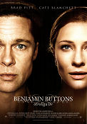 The Curious Case of Benjamin Button 2008 poster Brad Pitt David Fincher