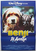 Benji the Hunted 1987 Movie poster