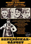 The Mean Machine 1975 Movie poster Burt Reynolds Robert Aldrich