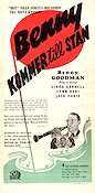 Sweet and Low-Down 1944 Movie poster Benny Goodman