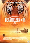 Life of Pi 2012 Movie poster Suraj Sharma Ang Lee