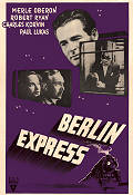 Berlin Express 1948 Movie poster Merle Oberon