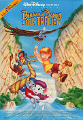 The Rescuers Down Under 1990 poster Bernard och Bianca
