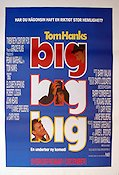 Big 1988 poster Tom Hanks