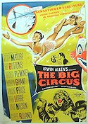 The Big Circus 1959 Movie poster Victor Mature
