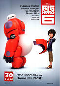 Big Hero 6 2014 Movie poster