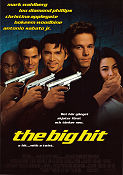 The Big Hit 1997 Movie poster Mark Wahlberg