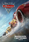 Cars 3 2017 poster Owen Wilson Brian Fee