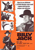 Billy Jack 1971 Movie poster Delores Taylor Tom Laughlin