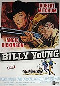 Billy Young 1969 Movie poster Robert Mitchum