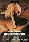 Bitter Moon 1992 Movie poster Peter Coyote Roman Polanski