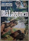 The Blue Lagoon 1949 Movie poster Jean Simmons