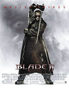 Blade II 2002 poster Wesley Snipes Guillermo del Toro