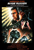 Blade Runner 1982 Movie poster Harrison Ford Ridley Scott